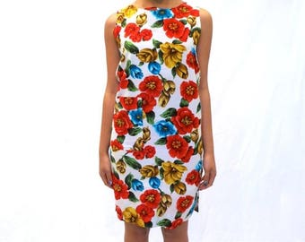 40% SUMMER SALE The Floral Shift Dress