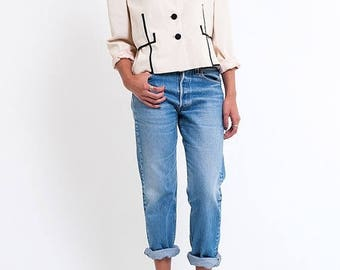 40% OFF CLEARANCE SALE The Black & White Christian Dior Blazer Jacket