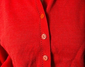 40% OFF The Vintage Pastelton Red Sweater