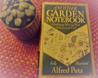 Another Garden Notebook by Alfred Putz  1936