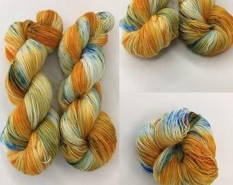 Fruit Salad -Hand-dyed Merino Sock Wool 4 ply