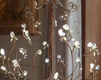 Glass Blossoms - A Sunshower Chandelier