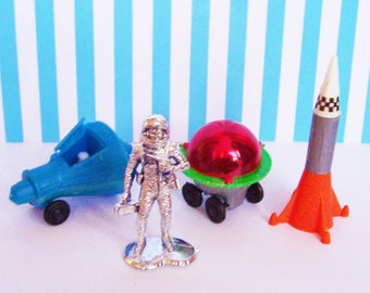 Space Explorers Science Cake Toppers