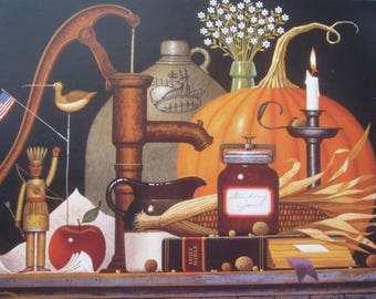 Charles Wysocki, 1994 Vintage Bookpage Print, Unframed Colorplate