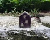Little Purple House/Clay House/Ceramic House