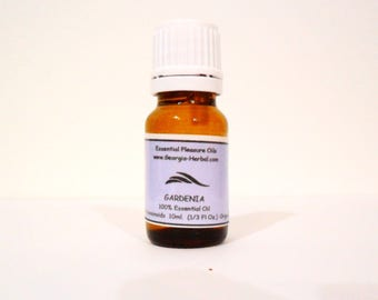 Gardenia ESSENTIAL Oil   Gardenia Jasminoids Pure and Natural  Lt Scent  UPick Size