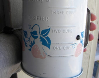 Vintage teleflora Flour Sifter