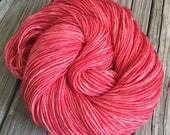 Hand Dyed DK Yarn Coral R...