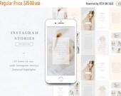 ON SALE - Instagram Stories Templates & Highlights Icons - Social Media Templates - Photographer Branding - Aspen