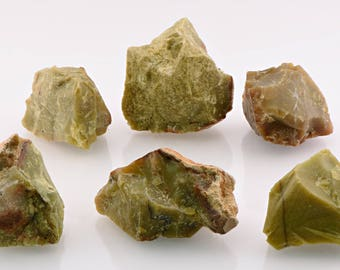 Green Opal Raw Rough Gemstone - Stone For Rejuvenating The Mind, Body & Spirit