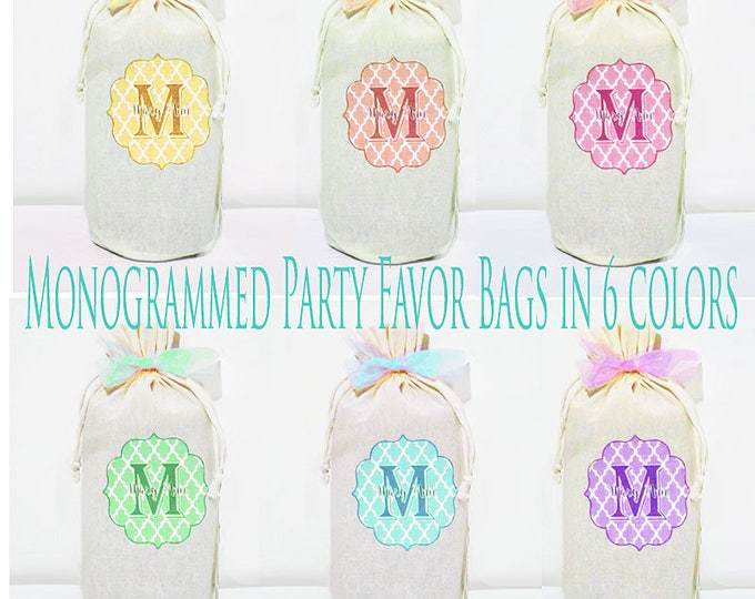 Baby Shower Hostess Gifts, 4 Wine Bags, Wine Sack, Wine Caddy, Baby Shower, Hostess Gift, Housewarming Gift, Party Favors, Treat Bags