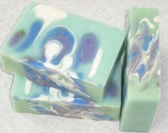 Wildflower Soap / Fresh Clean Air Scent /  Artisan Soap / Cold Process Handmade Soap