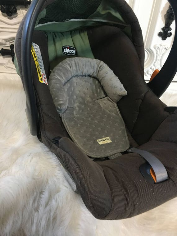 Car seat head support , Gray