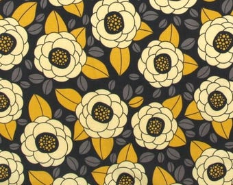 1/2 yard - Bloom in Granite, Aviary 2 collection by Joel Dewberry