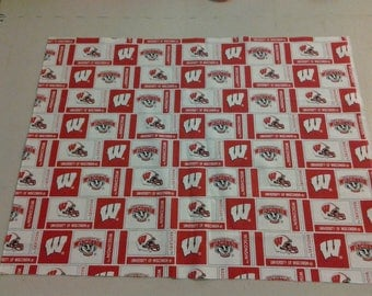 University of Wisconsin Badgers Fabric 247972