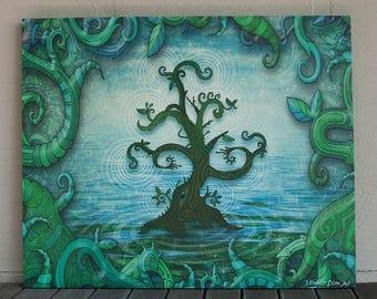 Canvas Print 'Vibraspirit'