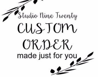 CUSTOM ORDER for Christina | Look What We Made | Art Display | Art Holder | Sibling Art Sign | Personalized Kid Signs | Child Artwork Hanger