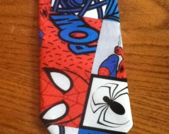Men's Handmade Spiderman Tie