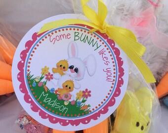 Some Bunny, Easter, Easter Bunny, Bunny, Easter Tag, Bunny Rabbit, Easter Egg Hunt, Easter Favor Tag, Easter Basket Tag, Easter Basket, Tag