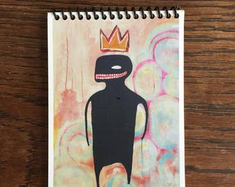 Jean-Michel Basquiat Notepad - Brooklyn - SAMO - Street Artist - Pop Art - NYC Street Art