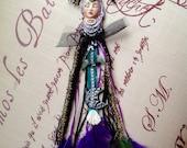 GODDESS AMULET Dreamcatcher, talisman, divine feminine, moon, boho, gypsy, bohemian, magic, sacre, energy healing, dreamer, zen, wall art