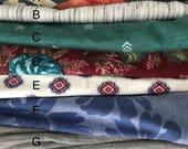 Knit Headwrap Headband You Choose Pattern Women's