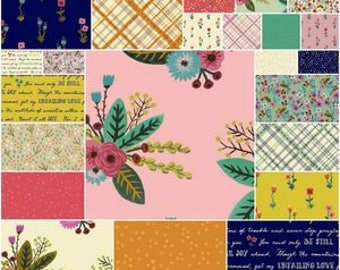 Meriwether fat quarter bundle by Windham fabric - Amy Gibson - 100% quilt cotton