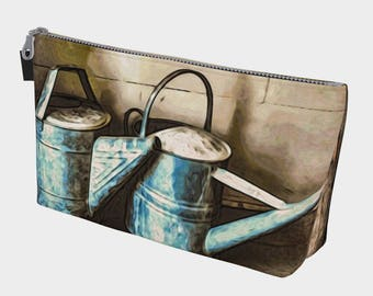 Watering Cans Make Up Bag
