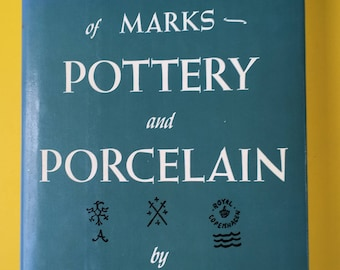 Porcelain marks etsy dictionary of marks pottery and porcelain by ralph and terry kovel sciox Image collections
