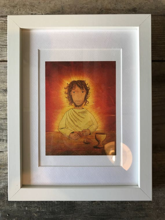 SALE! JSB Jesus - Small Framed Print