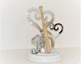 Baseball and Shoes Cake topper Decoration