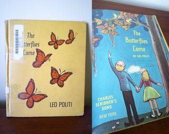 The Butterflies Come 1957 Leo Politi Monarch Butterflies