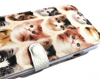 Cat iPhone wallet case iPhone 7 iPhone 7 plus iPhone 6 iPhone 6 Plus iphone 5 phone wallet