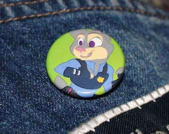 "1.25"" Judy Hopps (Zootopia) Buttons"