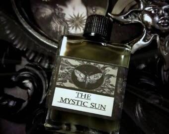 The Mystic Sun  Alchemy Natural Perfume Oil 1/2oz Lemon,Elemi,Narcissus,Lavender,Rose,Black Currant,Carrot,Amyris,Balsam ofPeru,Black Pepper