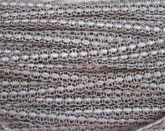 26 yards vintage lace trim - flat lace - 1/2 inch wide