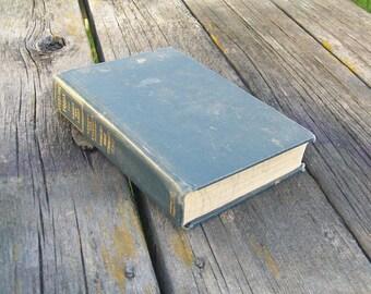 Vintage Book Everyday Foods by Jessie W. Harris and Elisabeth Lacey Speer 1933 Riverside Home Economics Series