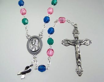Thyroid Cancer Awareness Rosary