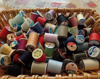 Lot of 80+ Spools of Thread