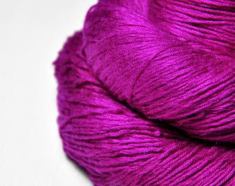 Electric light purple -  Fleece Silk Lace Yarn - LIMITED EDITION