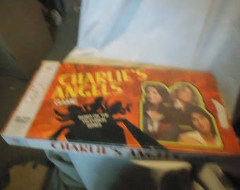 Vintage 1977 Charlie's Angels Board Game By Milton Bradley, NOT COMPLETE,