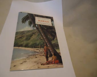 Vintage 1971 Hawaii Booklet American Geographical Society Know Your America Booklet by Nelson Doubleday, collectable