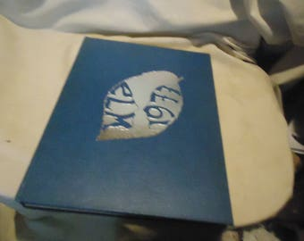 Vintage 1977 The Elm Yearbook or Annual Wethersfield High School, Ct. Volume 55, collectable