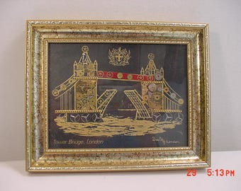 Vintage Tower Bridge London Horological Montage By David Of London   17 - 721