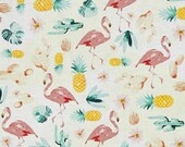 Flamingo CRIB SHEET Tropical Baby Bedding /Mini Crib Bedding /Changing Pad Covers Pineapple Nursery Bedding Fitted Crib Sheet Cactus Baby
