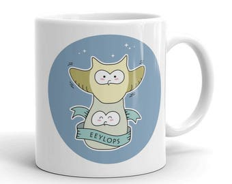 Eeylops Owl Emporium Ceramic Mug of Diagon Alley - Harry Potter Mug