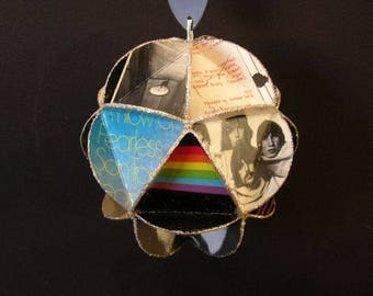 Pink Floyd Album Cover Ornament Made Of Record Jackets