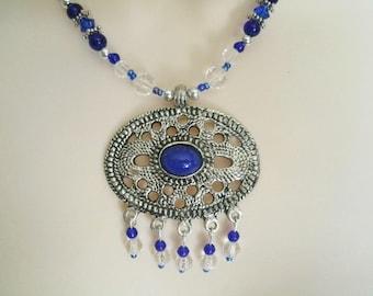 Boho Necklace boho jewelry hippie jewelry gypsy jewelry bohemian jewelry hippie necklace hipster new age bohemian necklace moroccan necklace