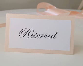 Small Wedding Signs for the Table Top, Reserved Wedding Signs, Instagram Signs, Social Media Signs, Wedding Buffet Signs