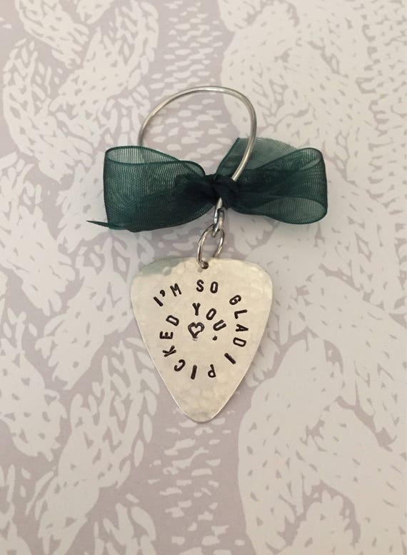 Guitar Pick Christmas Ornament PERSONALIZED Real Guitar